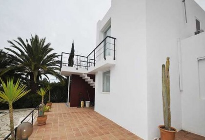 Modern 4 bedroom villa for sale Jesus Ibiza with views to Dalt Vila 5