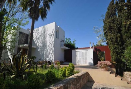 Modern 4 bedroom villa for sale Jesus Ibiza with views to Dalt Vila 6