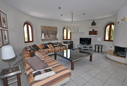Ibizan detached villa for sale in San Jose with stone tower_11