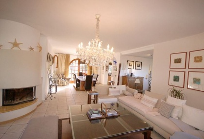 Ibizan detached villa for sale in San Jose with stone tower_2