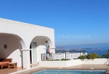Spectacular sea view property for sale in Santa Eulalia-1