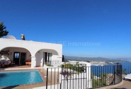 Spectacular sea view property for sale in Santa Eulalia-10