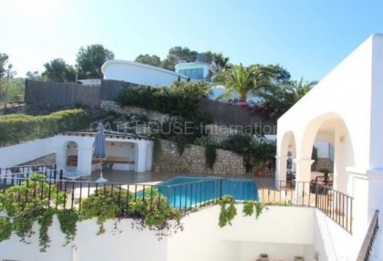 Spectacular sea view property for sale in Santa Eulalia-7