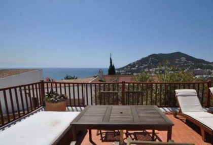 traditional sea view home for sale in Santa Eularia_s