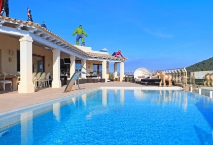 Luxury sea view villa for sale in Can Furnet_13
