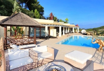 Luxury sea view villa for sale in Can Furnet_2