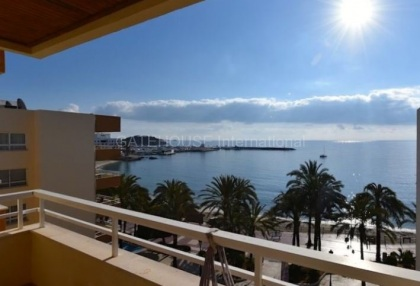 Penthouse apartment with views over Santa Eularia beach_1