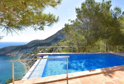 Luxury property with sea views in Cala San Vicente_5