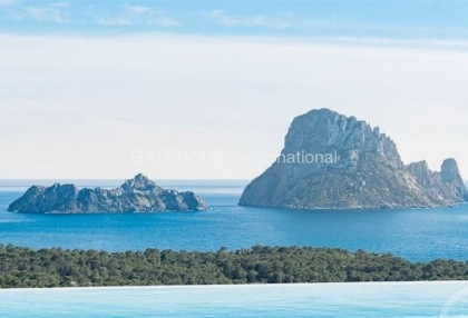 Es Vedra view Townhouse close to the beach of Cala Carbo_1