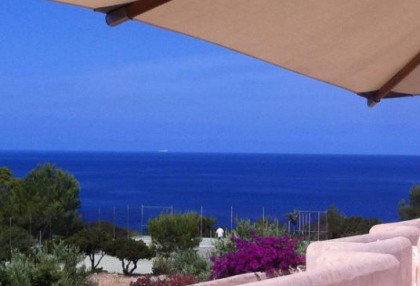 Sea view townhouse for sale in Cala Moli_1