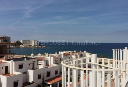 Sea view Penthouse apartment for sale in Port des Torrent_1