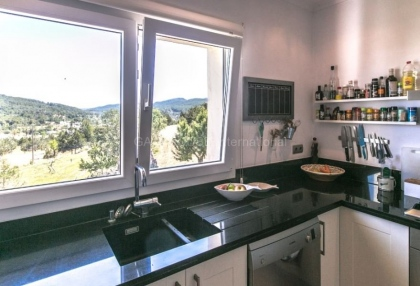 detached sea view home for sale in Sant Josep_14