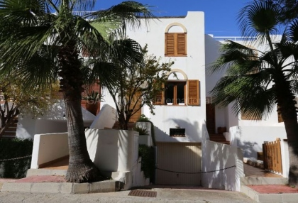 Terraced sea view house for sale in Cala Tarida_1