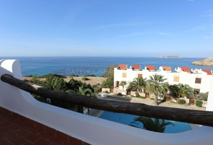 Terraced sea view house for sale in Cala Tarida_14