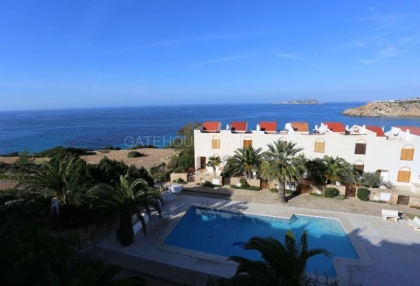 Terraced sea view house for sale in Cala Tarida_3