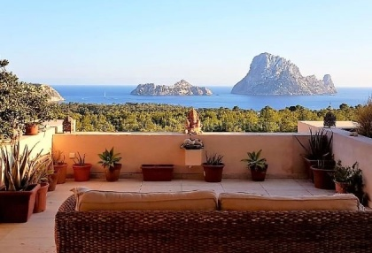 Two bedroom apartment with Es Vedra views_1