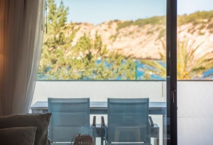 First line apartment for sale in Cala Vadella_8