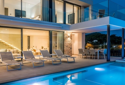 New Build sea view villa for sale in Ses Torres _1
