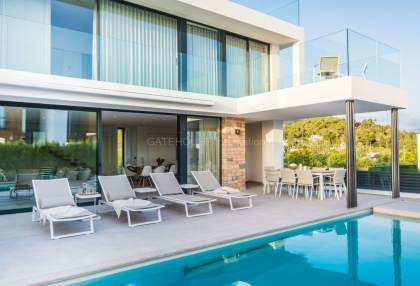 New Build sea view villa for sale in Ses Torres _6