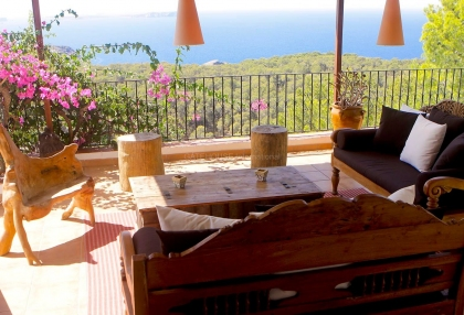 Beautiful home with sea and sunset views in Cala Salada_1
