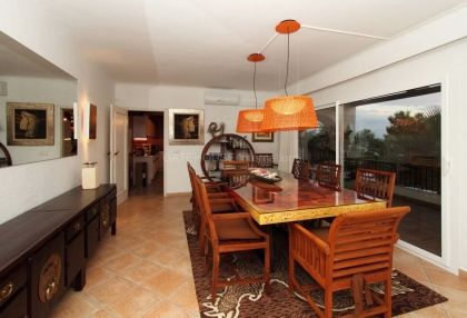 Beautiful home with sea and sunset views in Cala Salada_11