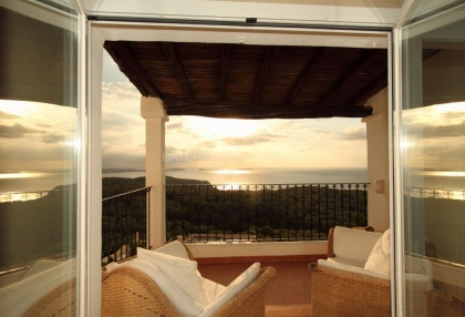 Beautiful home with sea and sunset views in Cala Salada_8