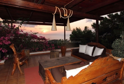 Beautiful home with sea and sunset views in Cala Salada_9