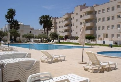 Frontline apartment for sale in Cala Bou_2