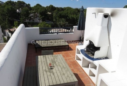 Two bedroom duplex apartment for sale in Cala Tarida_8