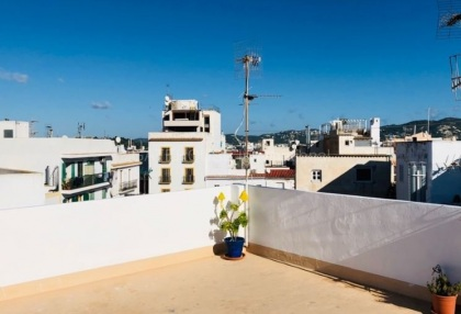 Traditional Penthouse apartment for sale in Ibiza Old Town_2