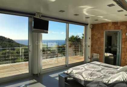 Modern sea view villa for sale in the mountains_2