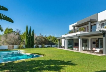 Modern detached home close to Ibiza Town in quiet urbanisation_4