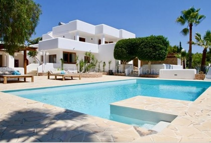 Luxury villa with sea and Forementera views_1