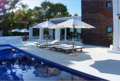Exclusive Ibiza sea view villa close to the sea with views over Es Vedra_13