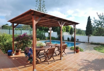 Villa with pool close to Ibiza Town_5