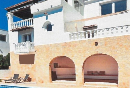 Reformed sea view villa for sale in Cala Llonga_1