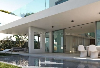 Brand new five bedroom villa for sale close to beach in Santa Eularia_9