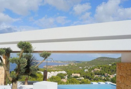 Modern villa with sea and sunset views close to Cala Carbo, Ibiza_2