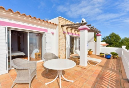 Spacious semi detached house for sale with panoramic sea views in Santa Eularia_3