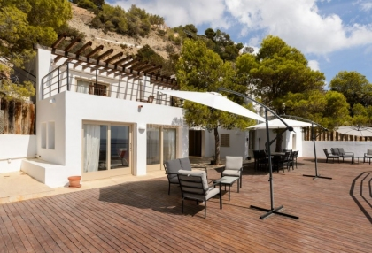 Frontline villa for sale in Es Cubells_3 - Copy