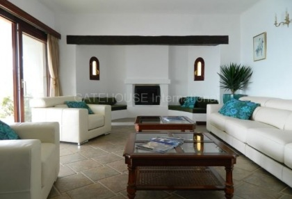 Frontline sea view homes for sale in Es Cubells with direct sea access_5