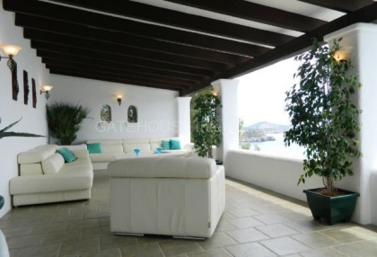 Frontline sea view homes for sale in Es Cubells with direct sea access_9