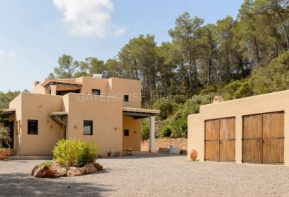 Hillside home with panoramic sea views over Santa Eularia_s