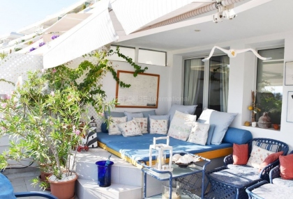 Front line two bedroom home for sale in Marina Botafoch_2