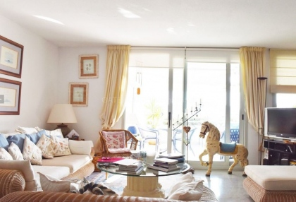 Front line two bedroom home for sale in Marina Botafoch_3