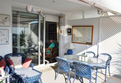 Front line two bedroom home for sale in Marina Botafoch_6
