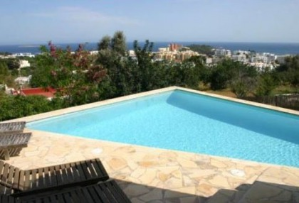 4 bedroom Santa Eularia villa for sale with stunning sea views 1