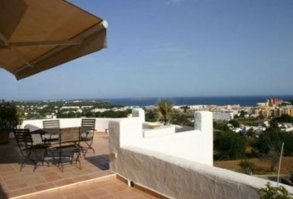 4 bedroom Santa Eularia villa for sale with stunning sea views 2