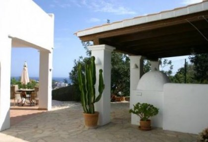 4 bedroom Santa Eularia villa for sale with stunning sea views 3