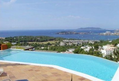 Triplex villa for sale Ibiza town with views over Talamanca 1